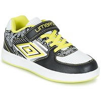 Scarpe Bambino Sneakers basse Umbro COGAN Nero / Bianco / Giallo
