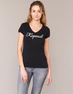 Abbigliamento Donna T-shirt maniche corte Kaporal NIAM Nero