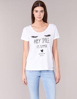 Abbigliamento Donna T-shirt maniche corte Kaporal ASMA Bianco