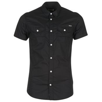 Abbigliamento Uomo Camicie maniche corte Kaporal RAC Nero