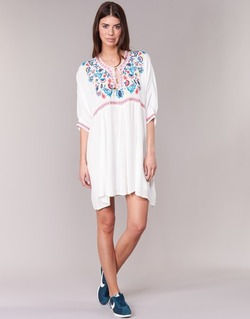 Abbigliamento Donna Abiti corti Billabong MYSTIC DRESS ECRU