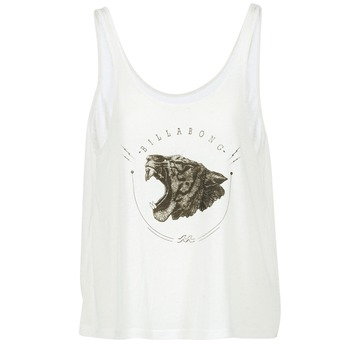 Abbigliamento Donna Top / T-shirt senza maniche Billabong OPEN TANK ECRU