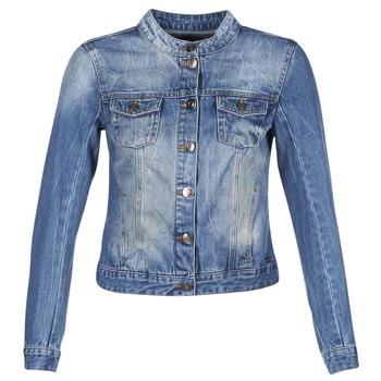 Abbigliamento Donna Giacche in jeans DDP DASTIONA Blu / MEDIUM