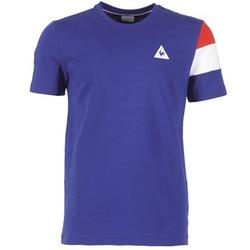 Abbigliamento Uomo T-shirt maniche corte Le Coq Sportif BLUREA Blu