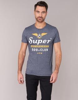 Abbigliamento Uomo T-shirt maniche corte Superdry 500 CLUB MOTORRADER Grigio
