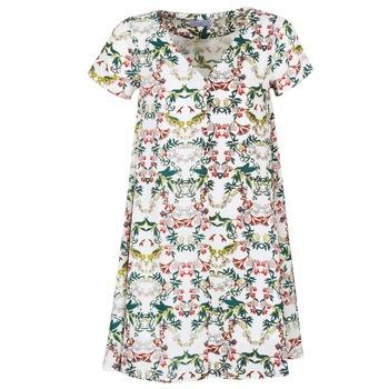 Abbigliamento Donna Abiti corti Compania Fantastica EPINETA Bianco / Verde / Rosa