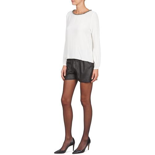 Suncoo Consegna Donna Abbigliamento Bonie 2320 Nero ShortsBermuda Gratuita NPmy0Ovw8n
