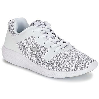 Scarpe Donna Sneakers basse Kangaroos KV 2 Bianco / Grigio