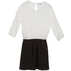 Abbigliamento Donna Abiti corti Suncoo CELESTINE Nero / Bianco