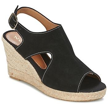 Scarpe Donna Sandali Nome Footwear DESTIF Nero