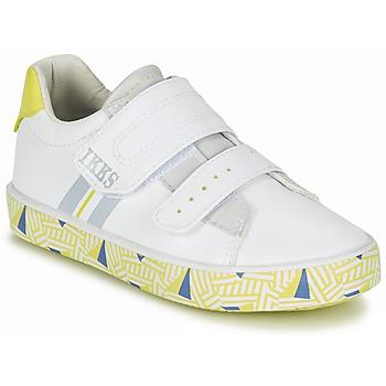 Scarpe Bambino Sneakers basse Ikks JOE Bianco / Giallo