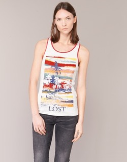 Abbigliamento Donna Top / T-shirt senza maniche Smash PISSARO Bianco