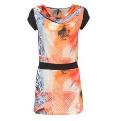 Abbigliamento Donna Abiti corti Smash CITRON Arancio / Nero