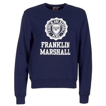 Abbigliamento Uomo Felpe Franklin & Marshall NESS OFRA Marine