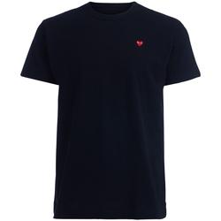 Abbigliamento Uomo T-shirt maniche corte Comme Des Garcons T-Shirt da uomo  nera cuore rosso Nero