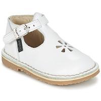 Scarpe Bambina Ballerine Aster BIMBO Bianco