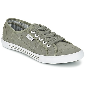 Scarpe Donna Sneakers basse Pepe jeans ABERLADY ANGLAISE Grigio