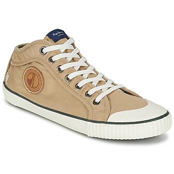Scarpe Uomo Sneakers alte Pepe jeans INDUSTRY EARTH CAMEL