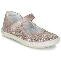 Scarpe Bambina Ballerine GBB PLACIDA Rosa / Oro