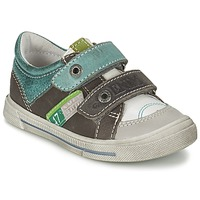 Scarpe Bambino Sneakers basse GBB PHIL Bianco-verde / Neve