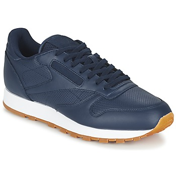 Scarpe Uomo Sneakers basse Reebok Classic CL LEATHER PG Blu