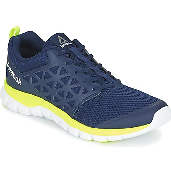 Scarpe Uomo Fitness / Training Reebok Sport SUBLITE XT CUSHION Blu / Giallo