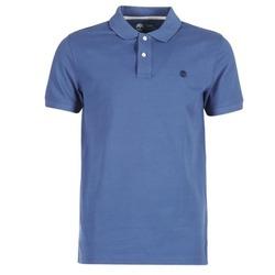 Abbigliamento Uomo Polo maniche corte Timberland SS MILLERS RIVER PIQUE REG POLO Blu