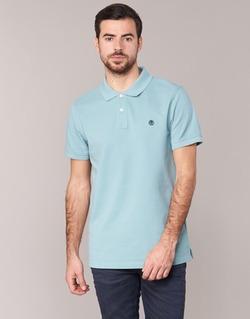 Abbigliamento Uomo Polo maniche corte Timberland SS MILLERS RIVER PIQUE REG POLO Blu / CLAIR