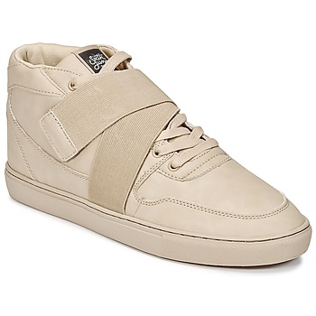 Scarpe Uomo Sneakers alte Sixth June NATION STRAP Beige