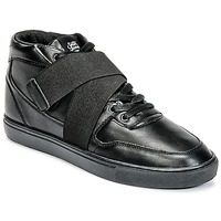 Scarpe Uomo Sneakers alte Sixth June NATION STRAP Nero