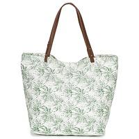 Borse Donna Tote bag / Borsa shopping Petite Mendigote CLEA ECRU / KAKI
