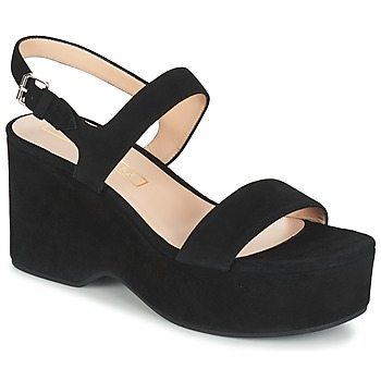 Scarpe Donna Sandali Marc Jacobs LILLYS WEDGE Nero