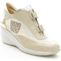 Scarpe Donna Sneakers basse Melluso R2644 Sneakers Donna Beige Beige