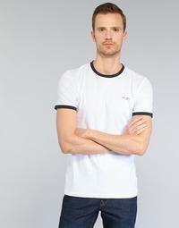 Abbigliamento Uomo T-shirt maniche corte Teddy Smith THE TEE Bianco