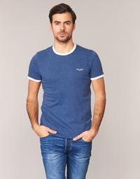 Abbigliamento Uomo T-shirt maniche corte Teddy Smith THE TEE Blu