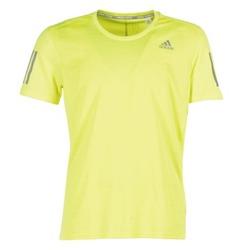 Abbigliamento Uomo T-shirt maniche corte adidas Performance RS SS TEE M Giallo