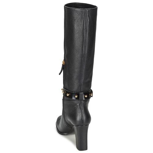 Stivali Scarpe Donna Cheapamp; 35250 Nero Consegna Chic Gratuita Moschino Stud nX0Pk8wO
