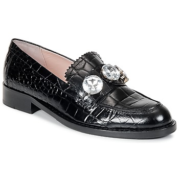 Scarpe Donna Mocassini Moschino Cheap & CHIC STONES Nero