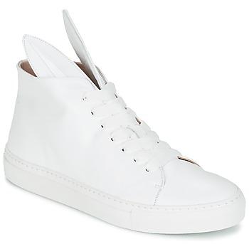 Scarpe Donna Sneakers alte Minna Parikka BUNNY SNEAKS Bianco