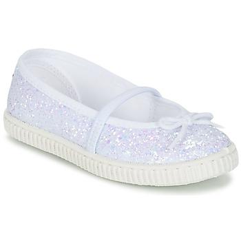 Scarpe Bambina Ballerine Chipie SALSABA Glitter / Bianco