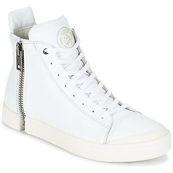 Scarpe Uomo Sneakers alte Diesel S-NENTISH Bianco