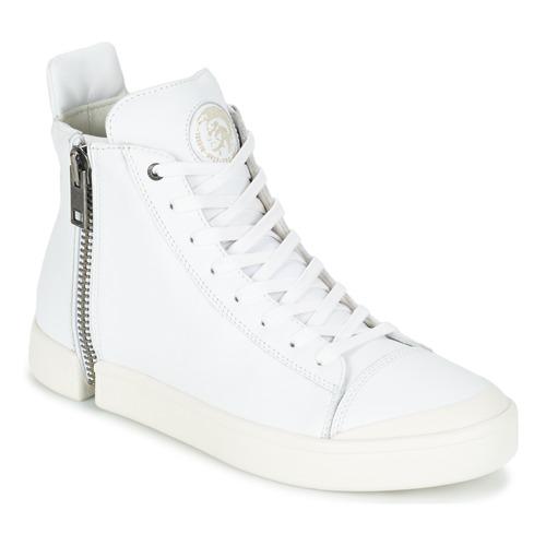 Diesel S-NENTISH Bianco - Scarpe Sneakers alte Uomo 132