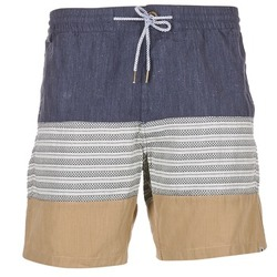 Abbigliamento Uomo Shorts / Bermuda Volcom THREEZY JAMMER MARINE / Beige / Grigio