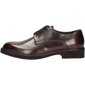 Scarpe Uomo Sneakers alte Marini W1609 STRINGATA Uomo BORDEAUX BORDEAUX