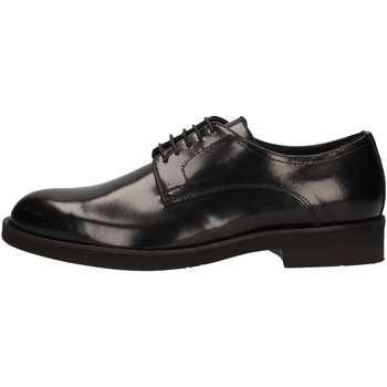 Scarpe Uomo Sneakers alte Marini W1609 STRINGATA Uomo NERO NERO
