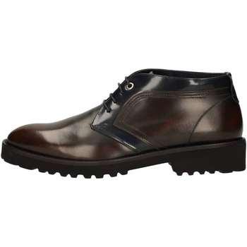 Scarpe Uomo Sneakers alte Marini W1619 STRINGATA Uomo MARRONE MARRONE
