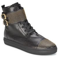 Scarpe Donna Sneakers alte Kennel + Schmenger URZI Nero / DORE