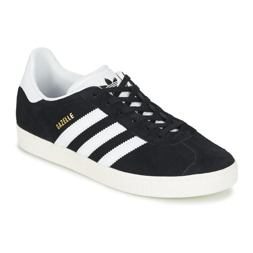 Scarpe Bambino Sneakers basse adidas Originals GAZELLE J Nero