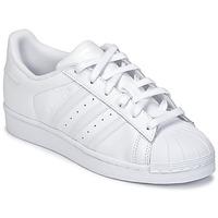 Scarpe Unisex bambino Sneakers basse adidas Originals SUPERSTAR Bianco