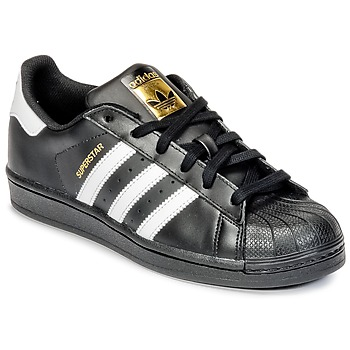 adidas originals superstar bambino nere